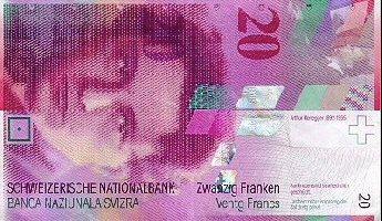 Bis 20 Franken