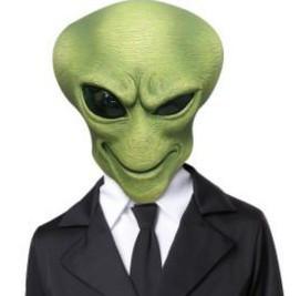 Alien Agent Kinder Kostüm